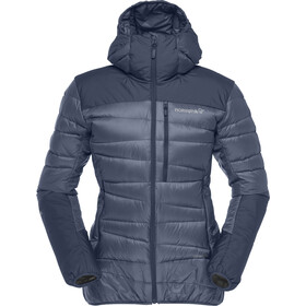 Norrøna Falketind 750 Down Hood Jacket Dame indigo night
